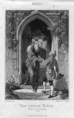 H. Gugeler, Aus meinem Leben, Stahlstich zu F. Rothbart, D2421-16
