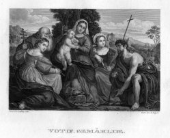 L. Baeyer, Votif-Gemälde, nach J. Palma, D2400-4