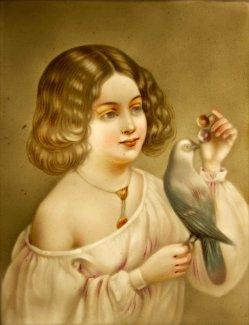 BPM 531 - Kind mit Vogel, klein