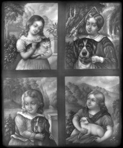 HPM 127 - Kinder mit ihren Haustieren nach H. Werner (attr.)