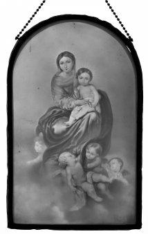 HPM 147 - Madonna mit Kind und Engelsschar, nach Murillio