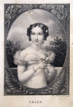 Franz Xaver Stöber (1795-1858), Punktierstich, Vally, D1297