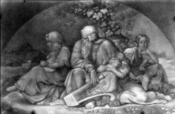 064 S 122, Bendemann, Juden, Lithophanie