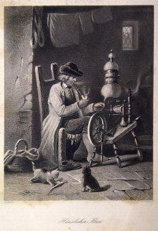 William French (um 1815 - 1898), Stahlstich,