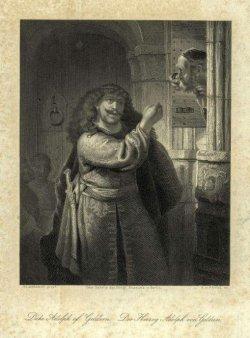 """Albert Henry Payne (1812-1902)"""" Simson bedroht seinen Schwiegervater"""", A0035"""