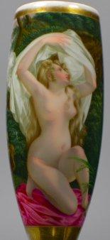 Nach dem Bade, Porzellanmalerei, Pfeifenkopf, D1933