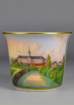 Kloster Roßleben, Porzellanmalerei, Tasse, D1935