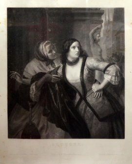 Auguste Adrien Jouanin (1806-1887), Lithographie, Leonore, nach Oesterley, D1967