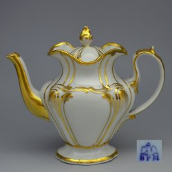 Buckauer Porzellanmanufaktur, Kaffeekanne um 1850, D0652-138-02