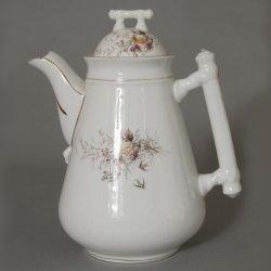 Buckauer Porzellanmanufaktur, Kaffeekanne um 1885, D0483-027-07