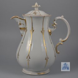 Buckauer Porzellanmanufaktur, Kakaokanne um 1850, D0996-260-0
