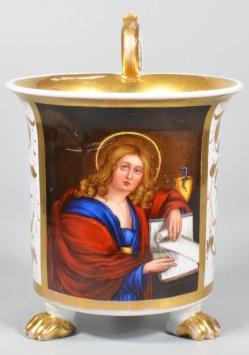 Domenichino (1581-1641), St Johannes, Porzellan Nathusius, D2003-0