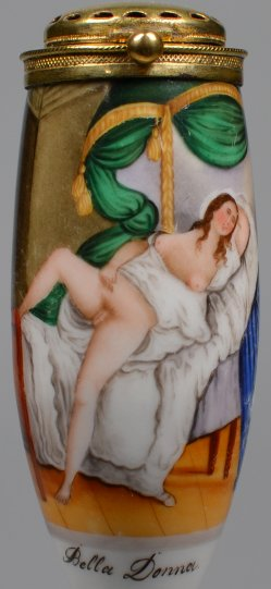 Erotik, Porzellanpfeifenkopf-0, Biedermeier, D2004