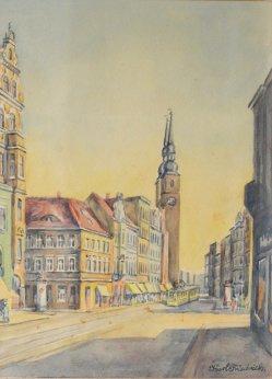 Karl Friedrich (1898-1989) Magdeburg Breiter Weg, D0874-0