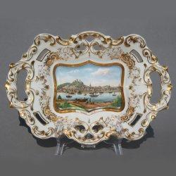 Wertheim am Main, Althaldensleben, Kuchenschale nach 1842, D0789